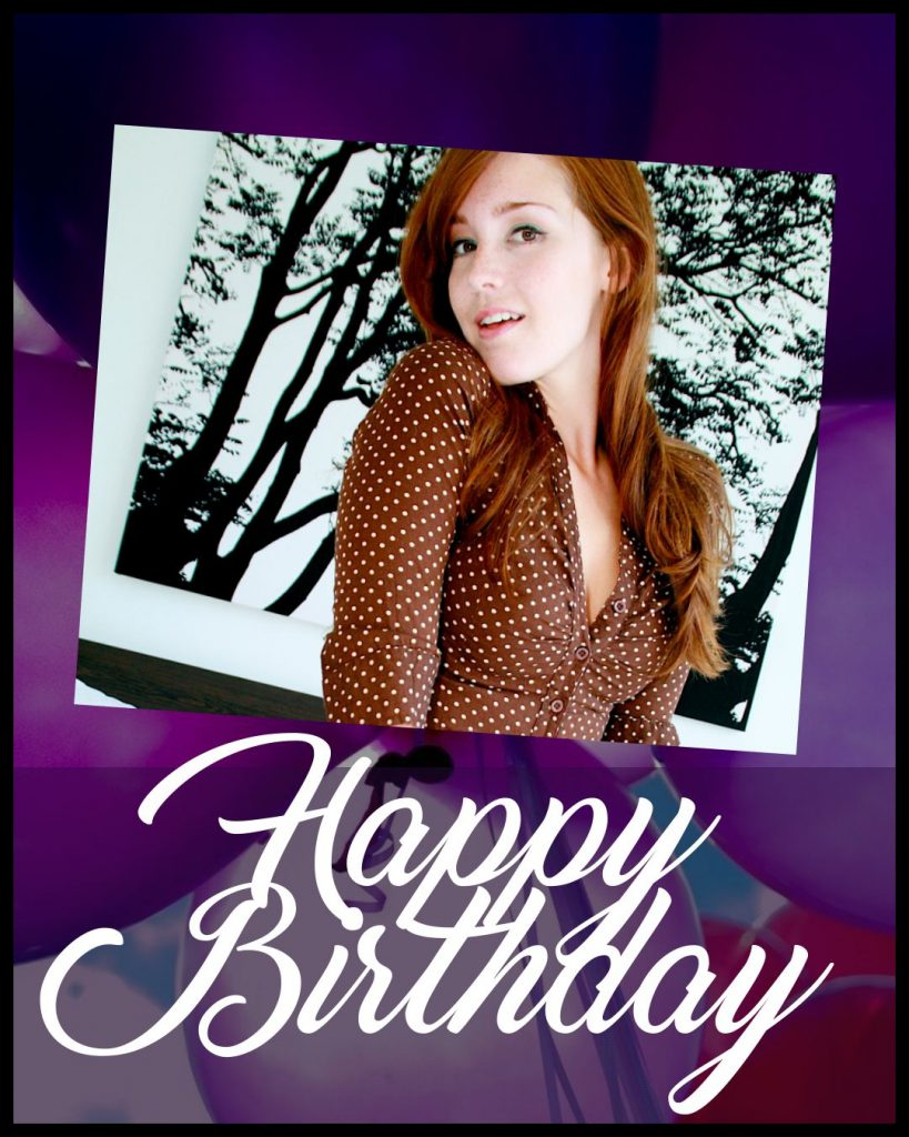 Happy Birthday, Mistress Cecilia!